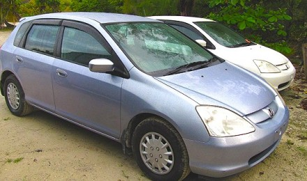 Silver a la Car Rental - Honda Civic - Seats 5